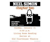 Old Courthouse Theatre: Living Room Reading Series