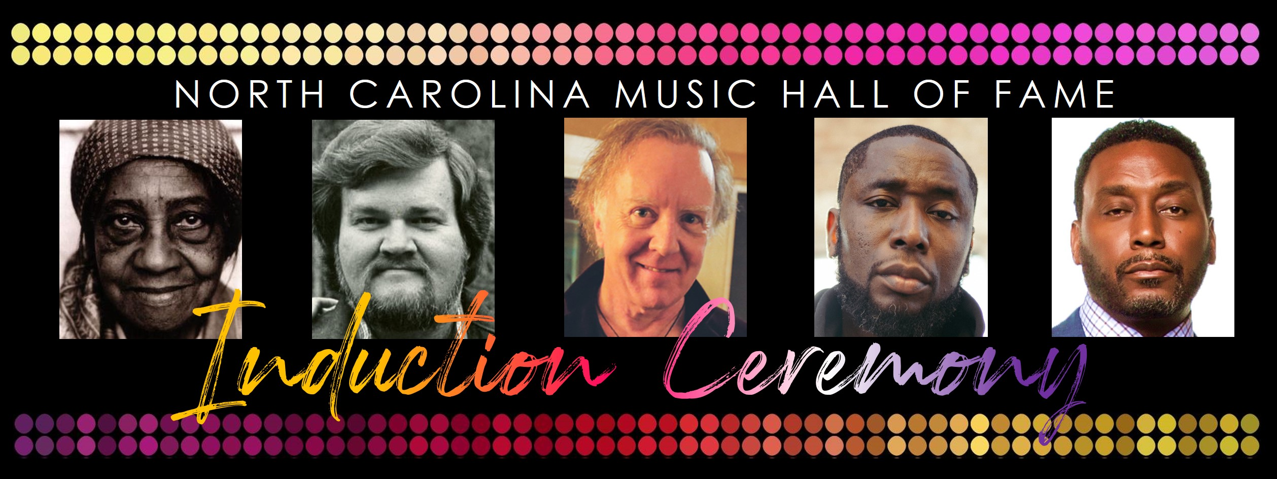 North Carolina Music Hall of Fame Induction Ceremony