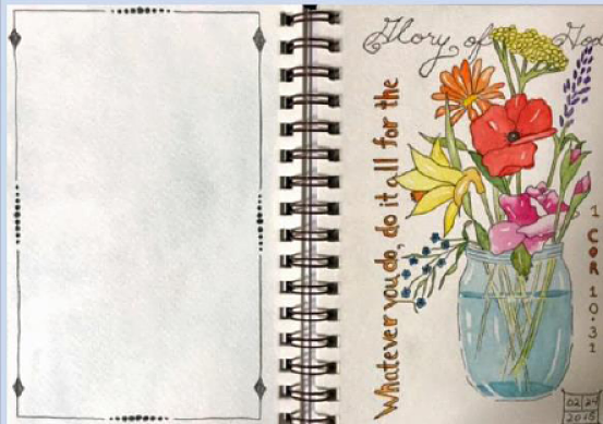 Introduction to Journaling with Watercolor for Non-Sketchers with Annie Glacken