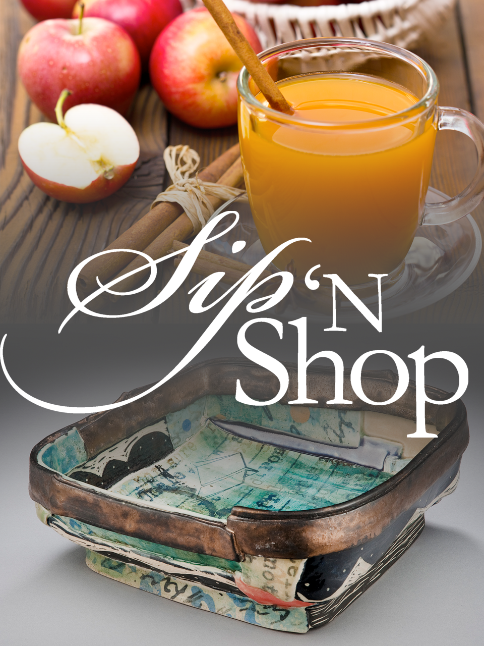 Sip and Shop at the Galleries