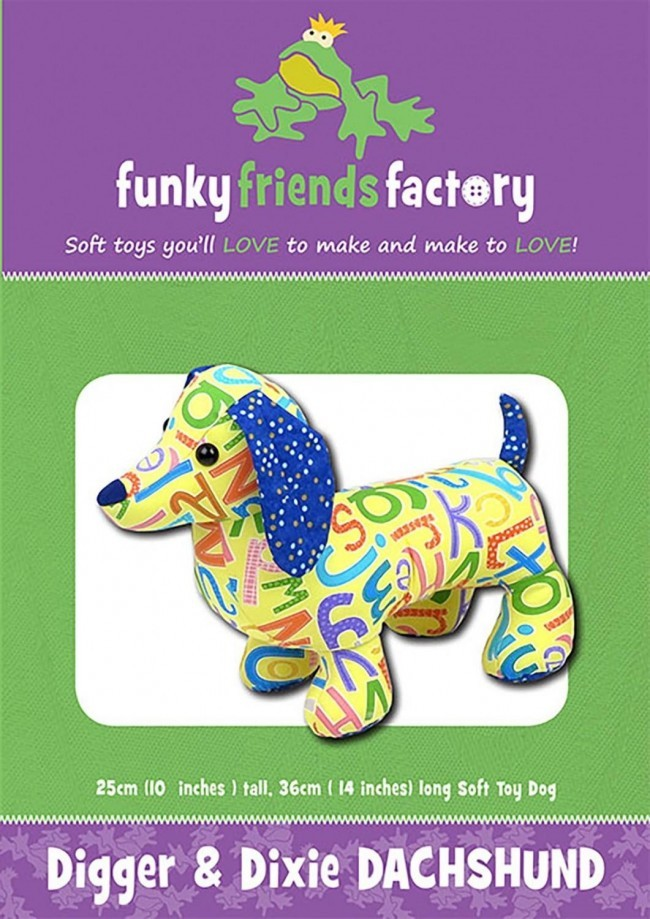 We're Sew Creative: Funky Friends Digger & Dixie