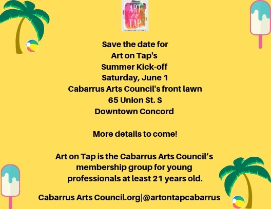 Art on Tap's Summer Kickoff