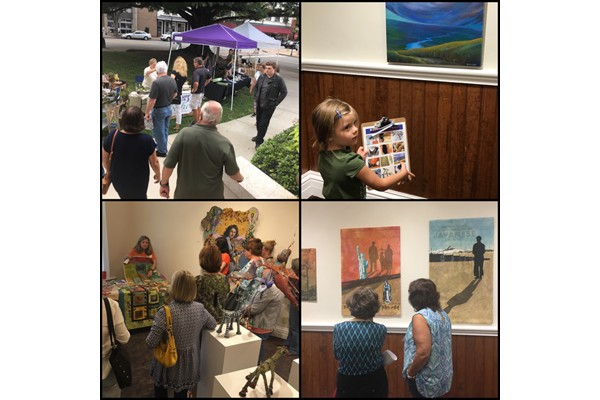Art Walk and Artists' Reception for In the Open Air