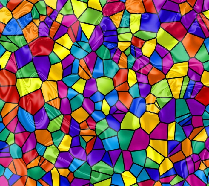 Art with Jessica: Tissue Paper Stained Glass