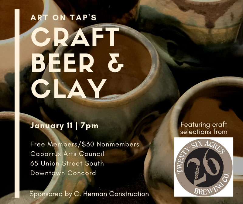 Art on Tap Craft Beer and Clay 2018