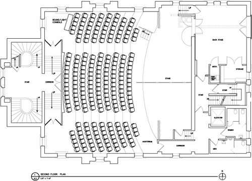 davis theatre layout