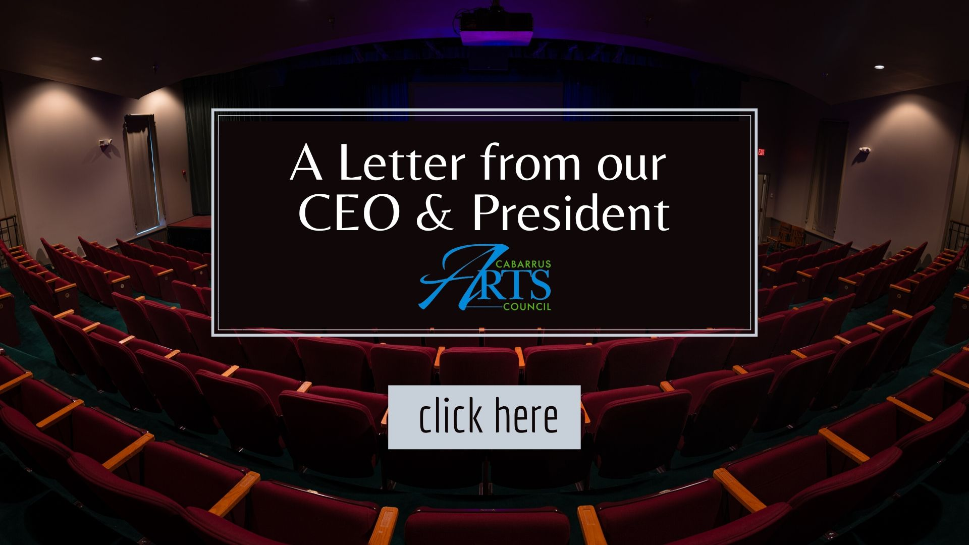 Letter from our CEO President Website